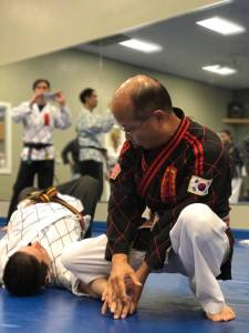 Grandmaster Guak Joint Lock