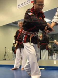 Grand Master Guak disarming technique