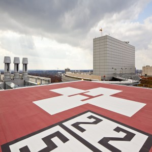 Rooftop Heliport