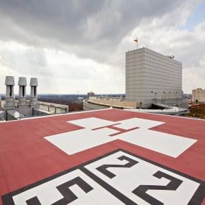 Rooftop Heliport
