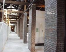200111 - 4th floor - new brick columns new concrete flooring