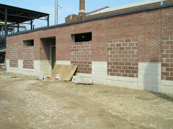Clubhouse W wall