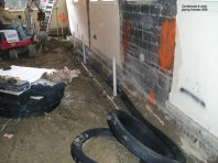 Condensate & drain piping