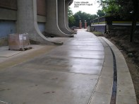 Crisler sidewalk replacement