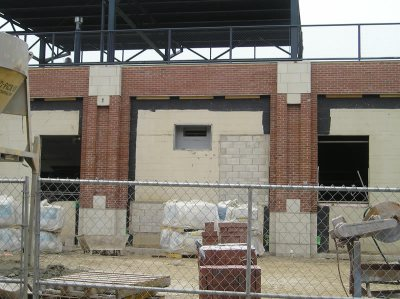 E wall stadium