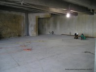 Events space looking southwest