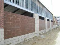 Hitting Facility E wall