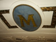 M on Ceiling Close-up
