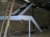 New stair framing