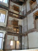 New stairwell location