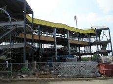 Ongoing stadium work