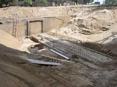 Utility Tunnel Work