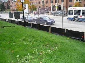 West site silt fence