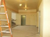 Mezzanine stair lobby