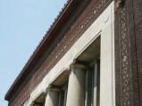 New stone above columns