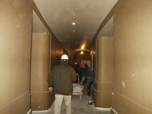 Sound and light lock area - Main Floor
