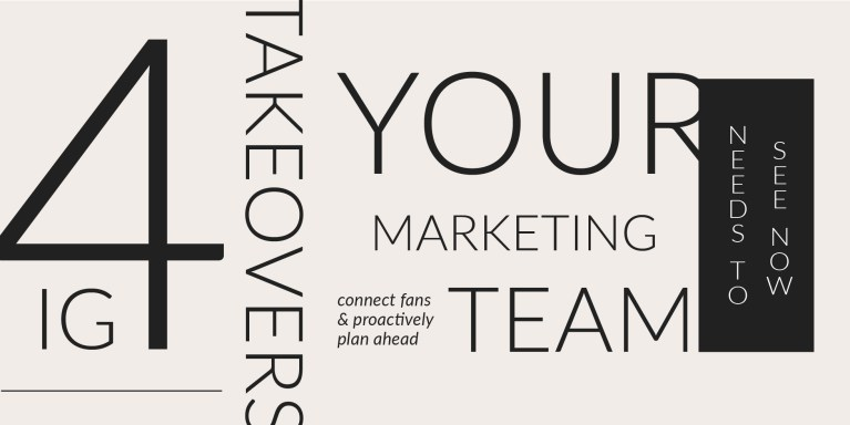 4 Instagram Takeovers Your Marketing Team Needs to See Now Blog Cover Photo