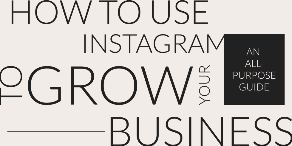 Use Instagram to grow you business cover photo