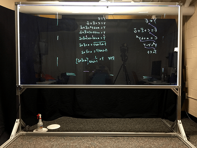 CITL Has a Lightboard  Center for Innovation in Teaching