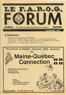 Le FAROG FORUM, 13.2