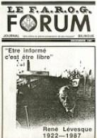 Le FAROG FORUM, 15.3