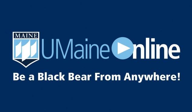 UMaineOnline logo and tagline