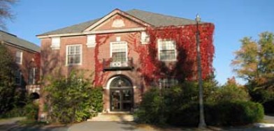 Picture of South Stevens Hall.