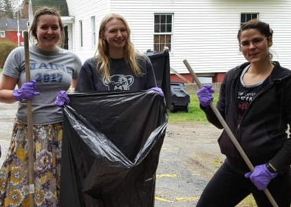 French Club Maine Day Service Project
