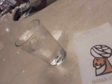 0水とカウンター
