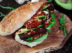 Veganes Cheese Oregano Sandwich