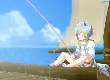 【ウマ娘】セイちゃんに釣り仲間を支給する