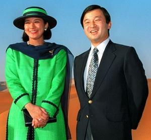 1994年中東歴訪の皇太子と雅子さま
