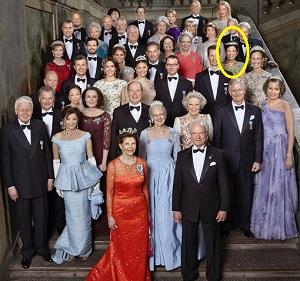 久子さまスウェーデン王室カールグスタフ国王70歳誕生日会
