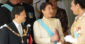 トンガ戴冠式皇太子と雅子さまご出席