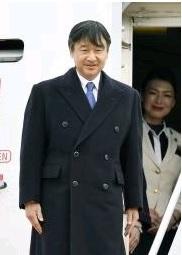 北海道に出発される皇太子殿下