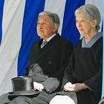 高松宮殿下墓所ご参拝の両陛下