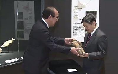皇太子さま、北海道博物館をご見学