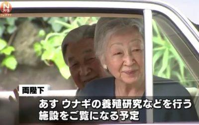 下田でご静養天皇皇后