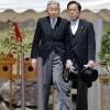 両陛下が武蔵野陵、武蔵野東陵を参拝