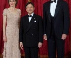 フェリペ6世国王夫妻と皇太子殿下