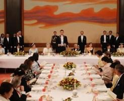 秋篠宮ご一家も晩餐会に出席