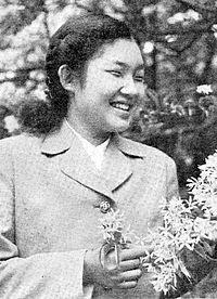 若いころの池田厚子さん