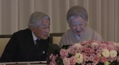 日米協会100周年 両陛下が記念式典出席その3
