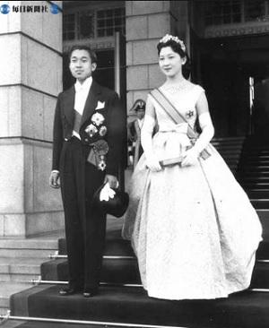 天皇皇后ご成婚