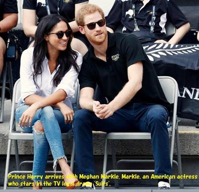 ヘンリー王子とメーガン・マークルその3