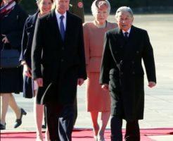 両陛下、ルクセンブルク大公を歓迎 国賓で来日