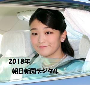 眞子さま2018年新春
