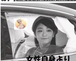 眞子さま川島家の援助で新婚生活?