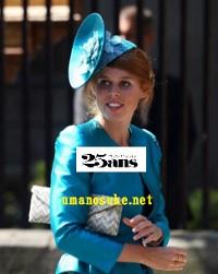 ベアトリス王女2011にいとこのザラ・フィリップス結婚式出席