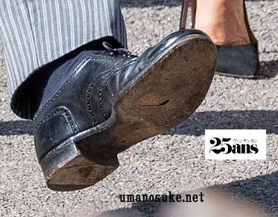 ヘンリー王子の靴底